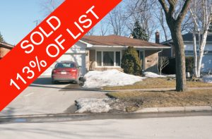 Sold Property - address1 Mississauga,  L5B1L1