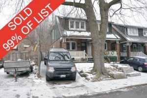 Sold Property - address1 Toronto,  M4L3C5